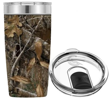 20OZ STAINLESS STEEL TUMBLER (REALTREE CAMO)